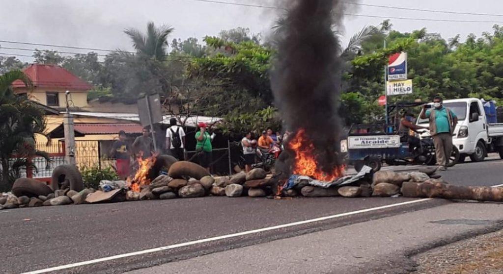 Las cosas están empeorando en la frontera de Honduras con Guatemala