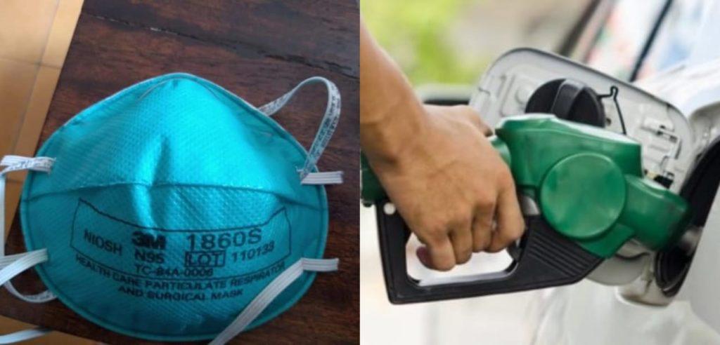 """Mascarillas N95 valen hasta Q50 cada una, """"el doble de un galón de gasolina"""""""