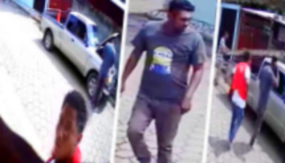 Hombres extraños con uniformes de CLARO han resultado ser pandilleros