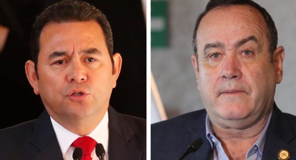 Presidente Giammattei ha ordenado la captura inmediata de Jimmy Morales